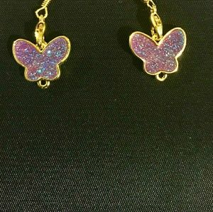 Purple Titanium Crystal Butterfly🦋